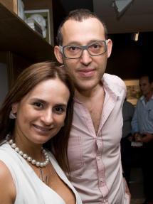 Myrna Porcaro . Karim Rashid