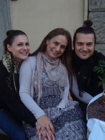 Vivi e Marcello Dilernia . Myrna Porcaro