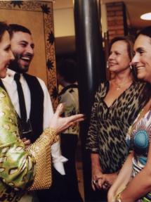 Zezé Duarte . Marcelo Quadros . Vera Bouleuc . Myrna Porcaro